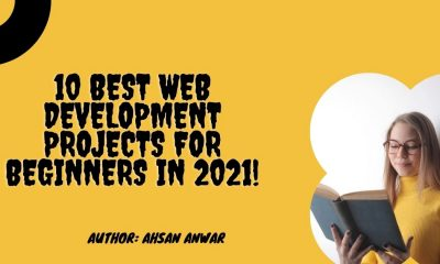 10 Best Web Development Projects For Beginners in 2021